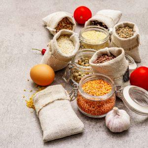 Grains, Pastas & Legumes